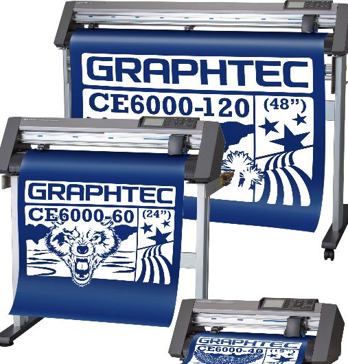 Graphtec CE6000-60 PLUS w/Flexi Software - Free Freight - stocked