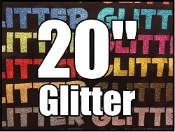 20 inch Glitter HTV - Over 50 colors!