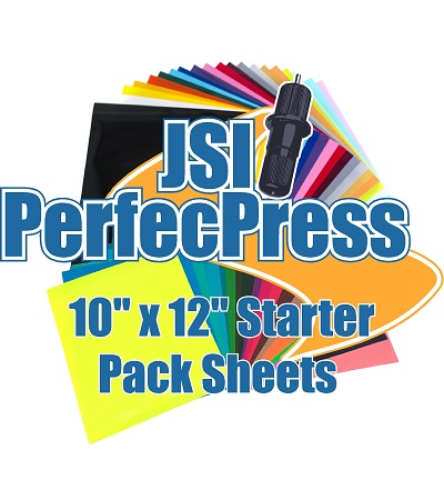 20pk of 12inch x 10inch Sheets of PerfecPress HTV