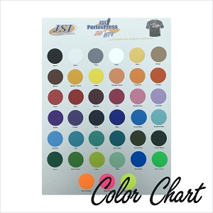 PerfecPress Soft Color Chart