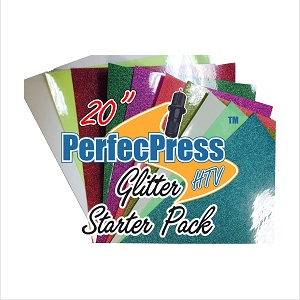 PP GLITTER 10in x 12in 10 pk 1 each, Red, RB White, Blue, Silver, Gold, Dk Gold, Royal, Leaf, Black, Pink