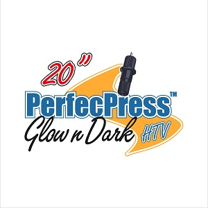 12in Sheet of Glow In the Dark PerfecPress HTV