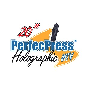 12in Sheets of Hologram Foil PerfecPress HTV