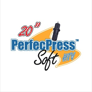 12 inch x 10 inch Sheet of PerfecPress Soft HTV - HALF SHEET