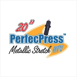 20in Stretch Metallic Soft Foil  PerfecPress - 20% OFF DECEMBER SALE!