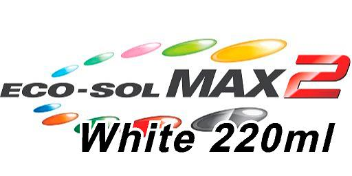 Roland MAX2 Eco Solvent White Ink - 220 ml
