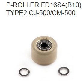 P-ROLLER FD - 21565103 - flat for middle position or CJ-500/CM-500