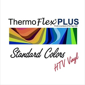12in x 15in Sheet of ThermoFlex Plus - All Colors!