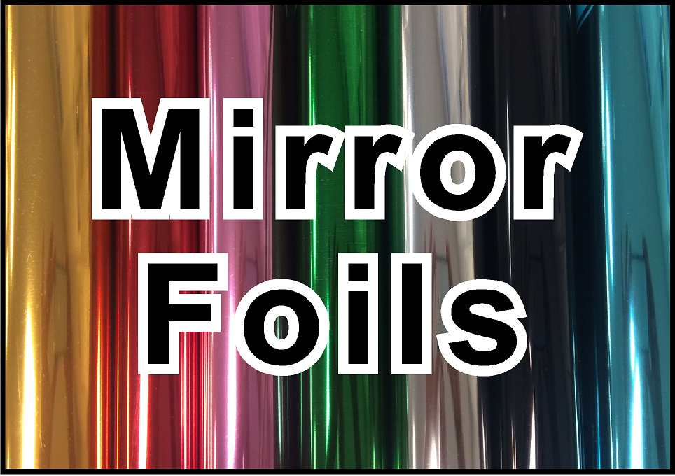 12in x 20in sheet of Mirror Foils