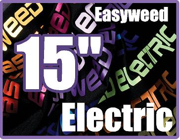 12in x 15in sheet of Siser EasyWeed Electric