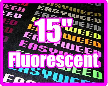 12in x 15in sheet of Siser EasyWeed FLUORESCENT