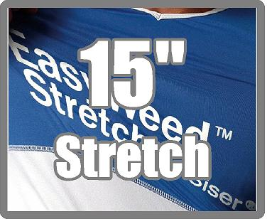 15 in EasyWeed - STRETCH HTV