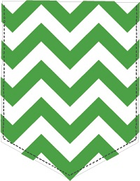 Frocket HTV with Chevron patterns - 5pk