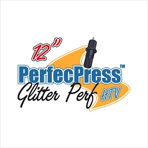 12 inch Sheets of Glitter-Perf PerfecPress HTV