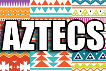 12 in x 18 in Sheet of Aztec Pattern sign decal vinyl