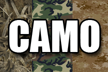 12in x 18in sheet of HTV Camo Patterns