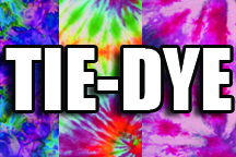 12 in x 18 in Sheet of Tie-DyePattern sign decal vinyl